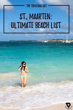 St Maarten Beach Guide | Caribbean Travel | St. Maarten | Travel Tips | North America | #southamericatravel