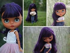 OOAK doll Custom Blythe Doll Collection doll von AnnKirillartPlace