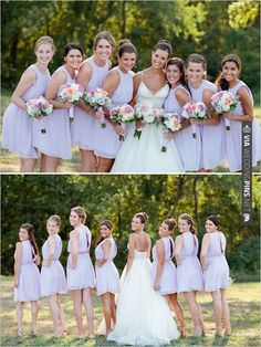 lavender bridesmaid dress ideas | CHECK OUT MORE IDEAS AT WEDDINGPINS.NET | #bridesmaids