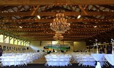 Sunset Ranch Barn Lighting (Chandeliers by @Sunset Ranch Hawaii)