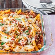 Baked Penne with Italian Sausage - Jo Cooks
