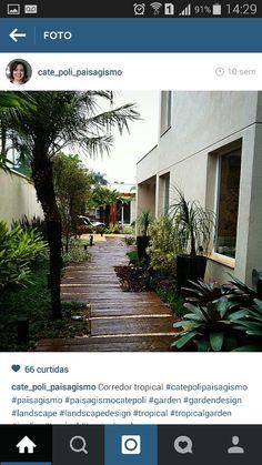 Jardim lateral - casa