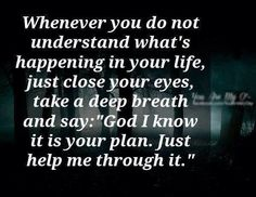 Needed to read this at this very moment...God, please help me see you in all of this. Please form your view in me when it comes to the things I am experiencing right now...