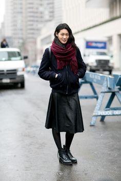 Simple yet chic. NYC #JiHyePark