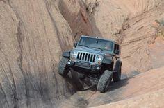2013 Jeep Wrangler Rubicon 10th Anniversary Edition at the Moab Easter Jeep Safari