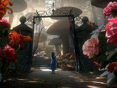 Tim Burton + Alice in Wonderland= perfection
