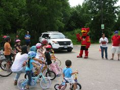 Annual Campus Police and Family Housing Bike Rodeo