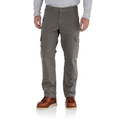 4b66969eab5ca Men's, Relaxed Fit, Midweight Lined Pants. The double-front for the double