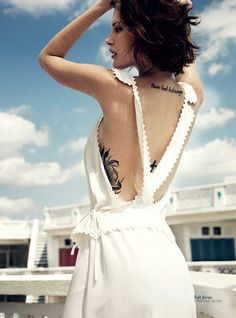 Catherine McNeil Stays Cool for Vogue Australias November 2012 Cover Shoot by Benny Horne