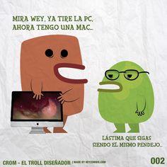 Crom el Troll Diseñador 002