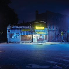 Baltimore at Night Photo Essay by Patrick Joust for Baltimore magazine