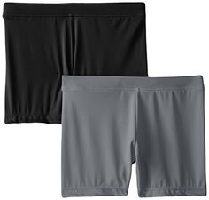 Playground Pals Girl's Slim 2 Pack Shorts - http://darrenblogs.com/2015/09/playground-pals-girls-slim-2-pack-shorts/