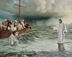 Peter keep your eyes on Jesus ~ not the situation