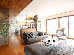 外観・内観|xevoΣ(ジーヴォシグマ)|注文住宅|ダイワハウス Japanese Home Design, Japanese Interior, Japanese House, Modern Interior, Interior Design, Living Spaces, Living Room, House Goals, My House