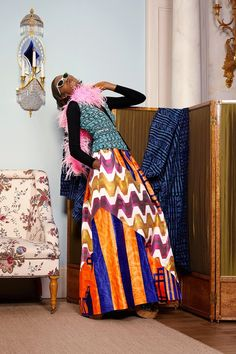 African Prints in Fashion: Playing Dress-up: Duro Olowu SS 2015