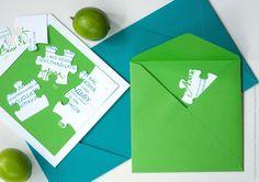 """Блог интернет-магазина """"Заготовочка"""": Мультичеллендж: Свадебные приглашения (и самые необычные)"""
