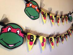 Tmnt Birthday Lot Party Cake Topper Teenage Mutant Ninja Turtle Pack