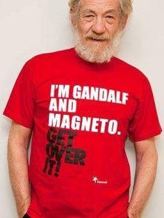 Ian McKellen magneto gandalf