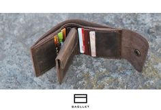 Кожаный кошелек - Bagllet