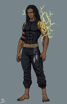 Primal OC commission by phil-cho on DeviantArt Male Character, Fantasy Character Design, Character Portraits, Character Design Inspiration, Black Anime Characters, Superhero Characters, Fantasy Characters, Dope Cartoon Art, Black Cartoon