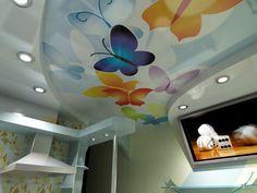 натяжные потолки с рисунком в запорожье