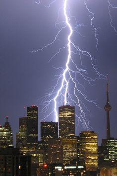 Toronto, Canada thunderstorm • byJohn R. Southern