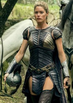 Doutzen Kroes (b. January portrayed Venelia in the 2017 film Wonder Woman and in Justice League. (External Links: The actor's entries on IMDb and Wikipedia) Vogue Korea, Vogue Spain, Warrior Queen, Warrior Girl, Fantasy Warrior, Warrior Princess, Doutzen Kroes, Christy Turlington, V Magazine