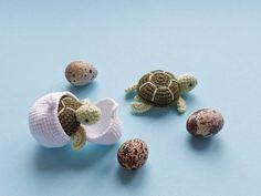 Crochet Fruit, Crochet Bee, Easter Crochet, Crochet Bunny, Crochet Animal Amigurumi, Crochet Animals, Toy Turtles, Blanket Yarn, Crochet Patterns Amigurumi