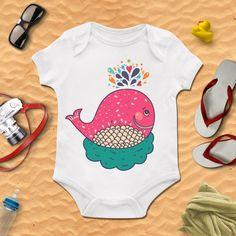Little whale, Whale, Girls Bodysuit,Boy Onesie,baby clothing,Baby Bodysuit,Baby Boy Bodysuit, Wild Child Style, Baby Gift, Custom onesie