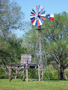 Lone Star Windmill in Austin County, Texas