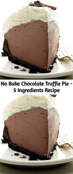 No Bake Chocolate Truffle Pie – 5 Ingredients Recipe – Mom Secret Ingredients pies pies recipes dekorieren rezepte Chocolate Truffle Pie Recipe, Chocolate Pies, Chocolate Truffles, Homemade Chocolate, Chocolate Recipes, No Bake Chocolate Desserts, No Bake Chocolate Cheesecake, Baking Chocolate, No Bake Desserts