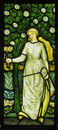 William Morris Four Seasons Windows - Spring