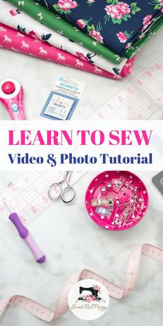 Learn how to sew in