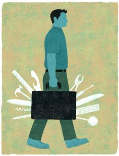 Entrepreneur © James Steinberg #illustration