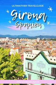 Girona in Spanien gehört zu uns zu den ultimativen Geheimtipps für eine Reise. Die Stadt liegt nahe an Barcelona und ist einfach wunderschön. Spannende Sehenswürdigkeiten, eine spektakuläre Landschaft, Game of Thrones Drehorte und wahnsinnig leckeres Essen. Mit unseren Tipps bist du bestens gerüstet für deinen Urlaub oder deinen Ausflug nach Girona. Roadtrip, Barcelona, Spain Travel, Barcelona Spain