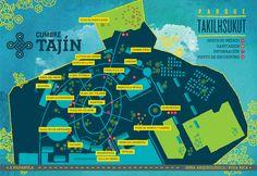 Cumbre Tajín Rebrand by Quique Ollervides, via Behance