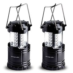 I just bought this and love it. Divine LEDs 2 Pack Ultra Bright Portable Outdoor LED Camping Lantern (Black, Collapsable) . you can see what others said about it here http://bridgerguide.com/divine-leds-2-pack-ultra-bright-portable-outdoor-led-camping-lantern-black-collapsable/
