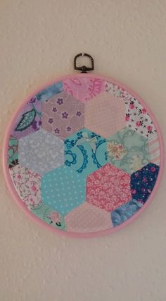 Patchwork Picture Frame by Myacecraft on Etsy