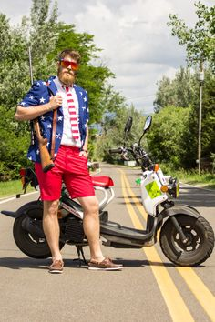 We'll be dipped in shit because daddy got his hands on the short-sleeved version of the classic 'Merican Gentleman, just like you guys asked for. Actually, it w