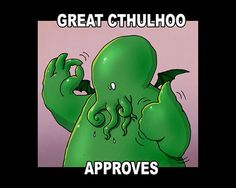 unspeakablevault (of doom) - great cthulhoo approves