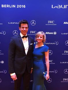 #AMG #F1 Couple Susie and Toto Wollf on the Red carpet at the Laureus World Sports Awards in Berlin. #Laureus ‪#‎LWSA16‬