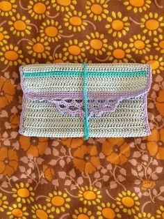 Crochet tobacco pouch