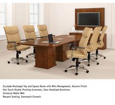 Study Carols Meeting Table By National Office Furniture - Conference national table