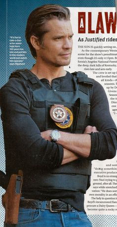 Timothy Olyphant Discusses Raylan's Future in TV Guide Magazine. Read more here