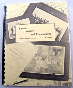 History of Franklin Township Indiana Schools Franklin Central Wanamaker Acton.  Available at BooksBySam.com
