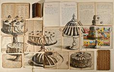 I libri sono la tela dei disegni di Ekaterina Panikanova, pittrice di origine russa, che vive e lavora a cavallo tra Roma e San Pietroburgo.