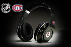 Monster Beats by Dr Dre Studio Montreal Canadiens Headphones  ID#: 61222