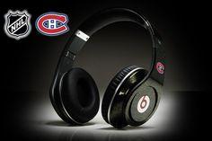 Monster Beats by Dr Dre Studio Montreal Canadiens Headphones  ID#: 61222