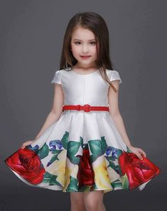Cheap party dress girl, Buy Quality girls floral dress directly from China children party dress Suppliers: GEMTOT 2017 Princess Girls Floral Dresses Summer Baby girl Rose Flower Pattern Dress Kids Children Party dresses girls Vestidos Girls Party Dress, Birthday Dresses, Little Dresses, Little Girl Dresses, Girls Dresses, Party Dresses, Dress Party, Tutu Party, Birthday Tutu