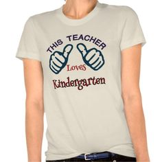 Novelty Kindergarten Teacher